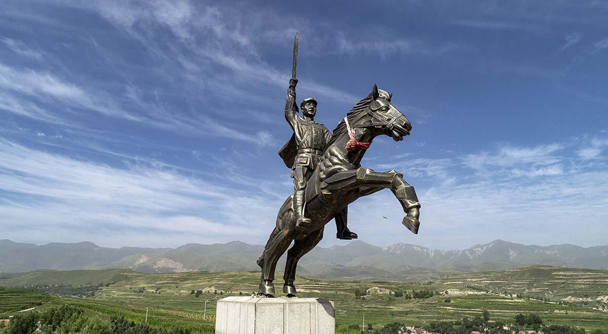 青石嘴战斗打出红军第一支骑兵侦察连(组图)